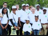 walking & planting with Exc. Dr. Joseph Chilengi and zambia embassy staff in Ankara