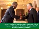 Zambia's Ambassador to the Hashemite Kingdomof Jordan